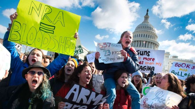 March for our lives 3-14-18