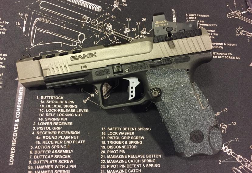 Canik TP9SFX Freedomsmith Trigger